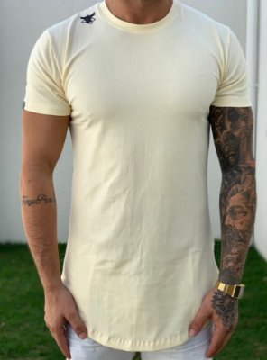 Camiseta Longline Off White Pirata - Totanka