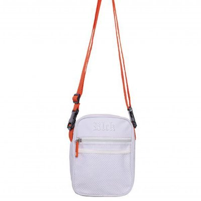 Shoulder Bag White Orange - BLCK