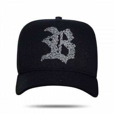 Boné Snapback Current Silver Black - BLCK