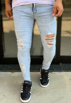 Calça Jeans Sky Skinny Destroyed - Creed Jeans