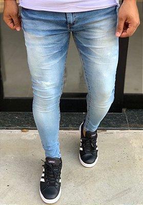 Calça Jeans Skinny Básica Light Used - Creed Jeans