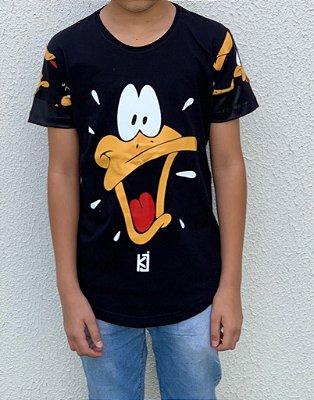 Camiseta Longline Infantil Dias de Luta - King Joy