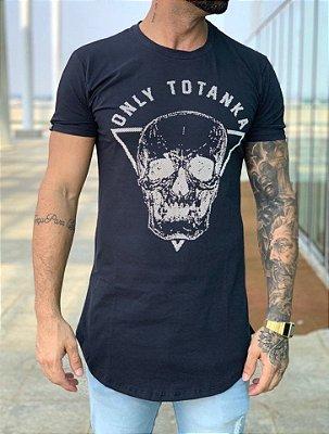 Camiseta Longline Only Black - Totanka