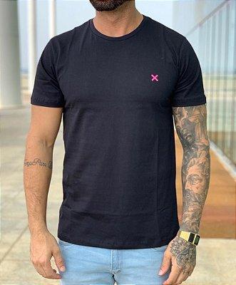 T-shirt Black X Pink Basic - Icon