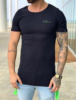 Camiseta Longline Locksmith Black - Totanka