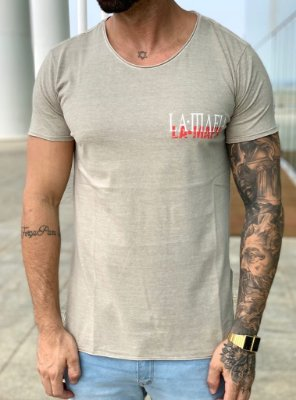 Camiseta Longline Push It To The Limit - La Mafia