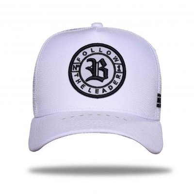 Boné Trucker Follow Reflective White - BLCK Brasil