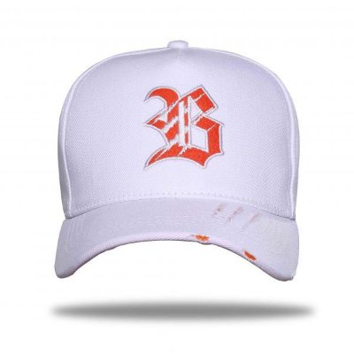 Boné Snapback Tiger White Orange - BLCK Brasil