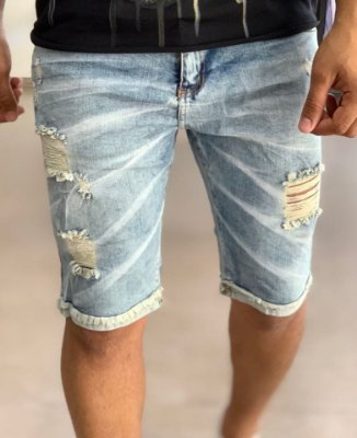 Bermuda Jeans Effect Destroyed - Creed Jeans