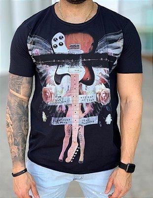 T-shirt You Gould Be Me Preto - Derekho