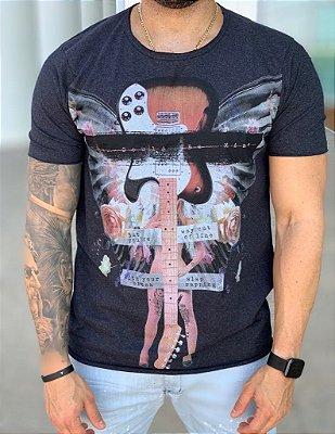 T-shirt You Gould Be Me Mescla - Derekho