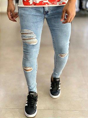 Calça Jeans Sky Skinny Destroyed NY - Creed Jeans