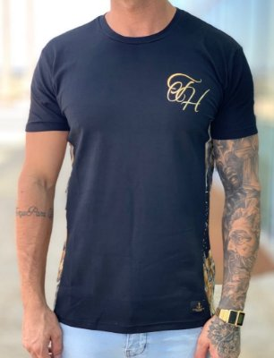 Camiseta Longline Prize Black - The Hope