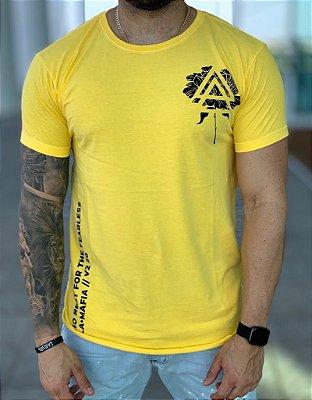 Camiseta Longline Yellow - Lamafia