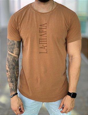 Camiseta Longline Conhaque - La Mafia