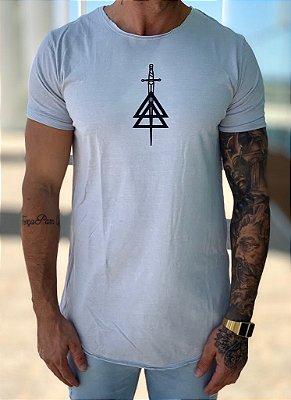Camiseta Longline Grey Light - La Mafia