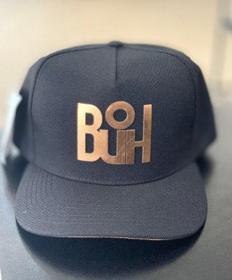 Boné Snapback Black & Dourado - BUH