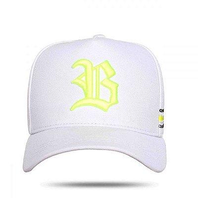 Boné Snapback Perfect White Yellow