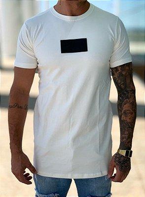Camiseta Longline Off White Logo - Pepper Of King