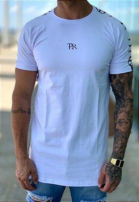Camiseta Longline White Stripe - Pepper Of King