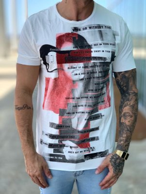 T-shirt With Or Without Creme - Derekho