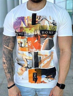T-shirt Home Sweet Home Creme - Derekho