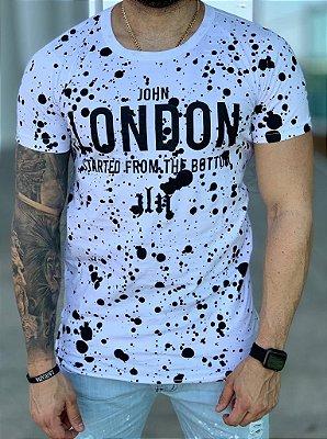 Camiseta Longline Splash SFTB - John London