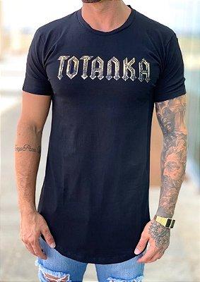 Camiseta Longline Black Totanka - Totanka