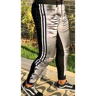 Calça White & Black Skinny Esp - Codi Jeans