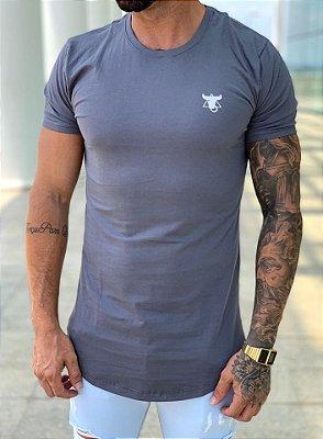 Camiseta Longline Gray & Sad - Totanka