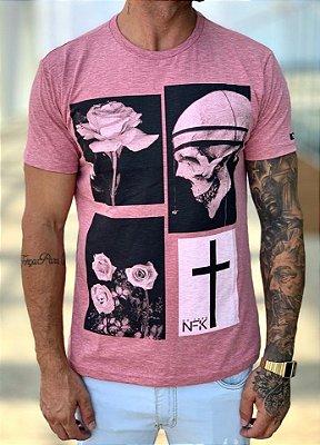 T-Shirt Marsala Flamê - NFK