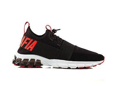 Sneakers Saturn Preto/Vermelho - La Mafia