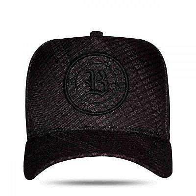 Boné Snapback Full Black - BLCK