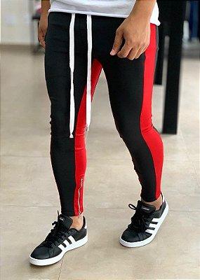 Calça Neoprene Black/Red - Kovauk