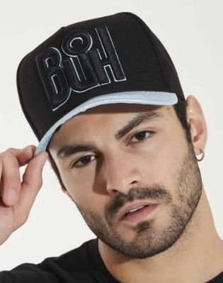Boné Snapback Furta Black & Blue - Buh
