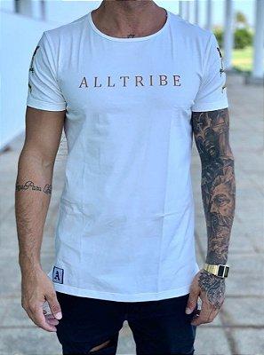 T-Shirt Long Off White Querubins - Alltribe