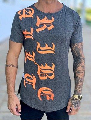 Camiseta Longline Mescla Diferent - Alltribe