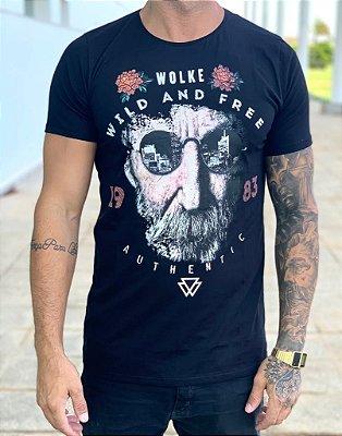 T-shirt Mr Crazy - Wolke