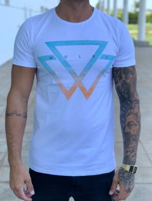 T-Shirt Blue Symbol - Wolke