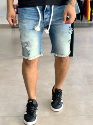 Bermuda Jeans Destroyed & Corda - Titular Jeans