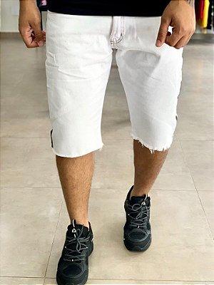 Bermuda Jeans Faixa Preta Lateral - City Denim