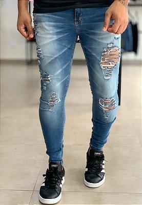 Calça Jeans Skinny Brunsvique - Creed Jeans