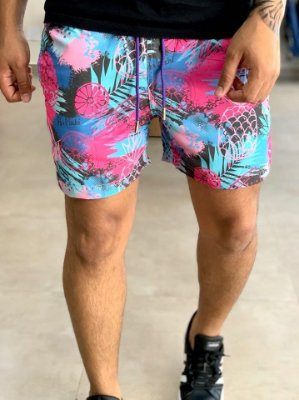 Shorts Beach Colors Pineapple - Perpochi