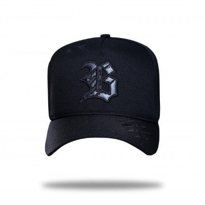Boné Snapback Black Destroyed - BLCK