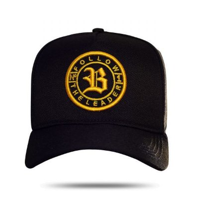 Boné Snapback Follow Race Black - BLCK