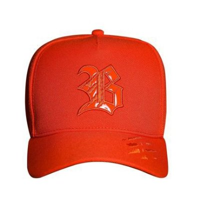 Boné Snapback Destroyed Tiger Orange - BLCK