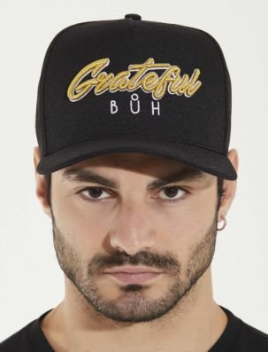 Boné Snapback Black Grateful - Buh