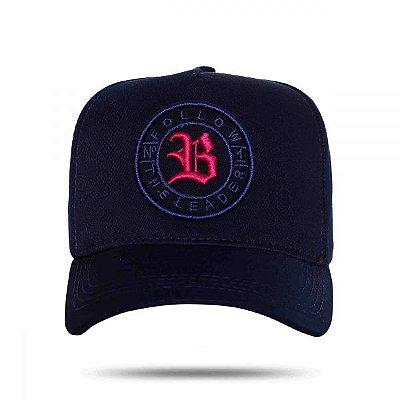 Boné Strapblack Blue Follow Logo - BLCK