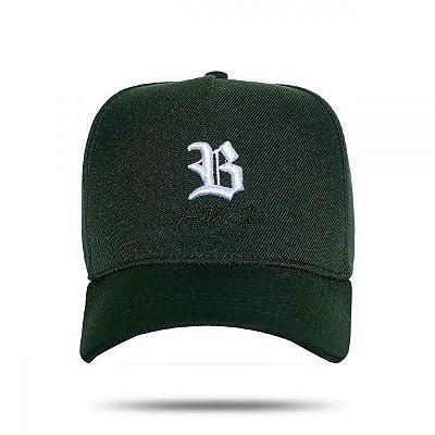 Boné Snapback Green Authentic - BLCK