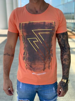 T-shirt Hot Color - Wolke